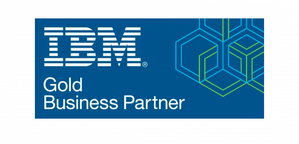 IBM GOLD business partner badge