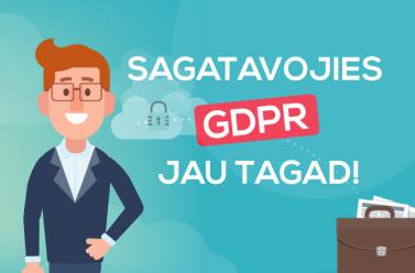 Sagatavojies fizisko personu datu aizsardzības regulai-likumam