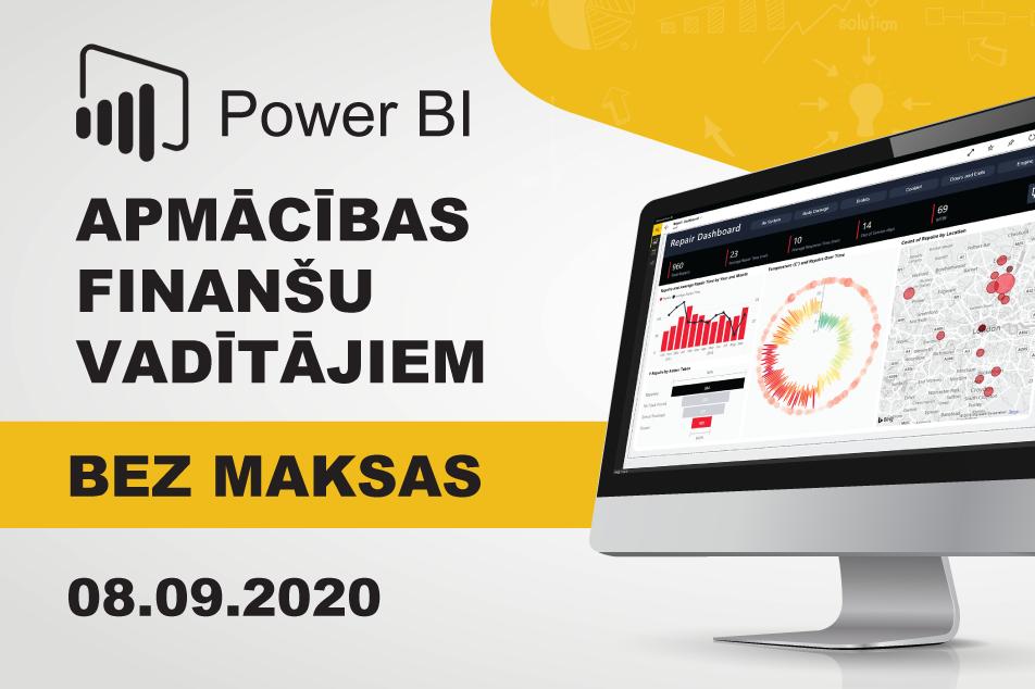 Datu analītiks Power BI datu analītikas apmācības Squalio